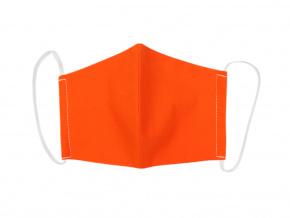 Oranžová rouška