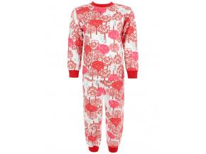 Dětské pyžamo Červený les