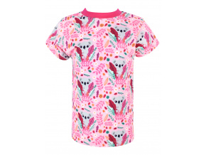Dětské růžové triko koaly