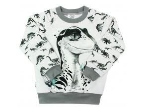 Dětská mikina dinosaurus