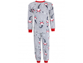 Dětské vánoční pyžamo červení skřítci