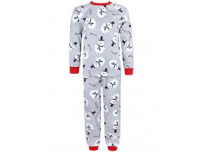 Dětské pyžamo sněhuláci