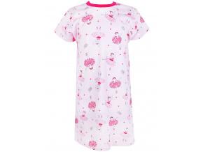 Dětská růová noční košilka baletky