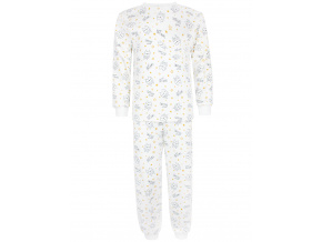 Dětské pyžamo sovičky na smetanové kopie