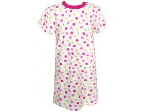 Dětská noční košile s kytičkami