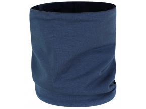 Dětský jarní podzimní tmavě modrý nákrčník