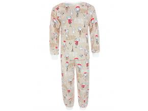 Dětské pyžamo s dlouhým rukávem paříž kopie