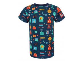 Dětské triko s krátkým rukávem roboti