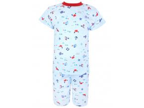 Dětské pyžamo s krátkým rukávem Pod hladinou