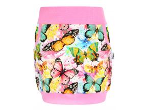 Dětská sukně motýlci