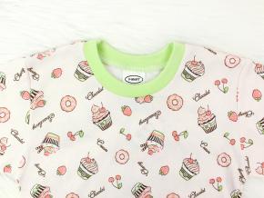 Dětské pyžamo s dortíky
