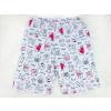 Dětské letní pyžamo pejsci a kočičky detail kraťasy