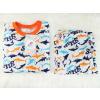 Dětské pyžamo žraloci sharks detail