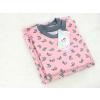 Dětské tričko králíčci na růžové detail