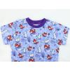 Dětské tričko pro dívky ličky a králíčci detail krku