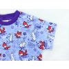 Dětské tričko pro dívky ličky a králíčci detail rukávu
