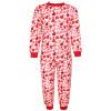 Dětské dívčí pyžamo srdíčka na bílé