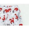 Dětské softshellové kalhoty lišky detail kapsy