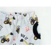 Dětské softshellové kalhoty bagry detail kapsy