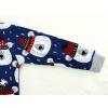 Dětské pyžamo medvídci na modré detail rukávu