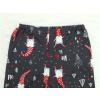 Dětské vánoční pyžamo detail pasu