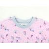 Dětské holčičí pyžamo myšky detail krku