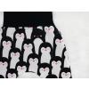 Dětské turecké kalhoty tučňáci detail