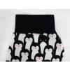 Dětské turecké kalhoty tučňáci detail pasu