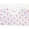 Dětské pyžamo berušky detail krku