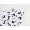 Dětská noční košile kočičky a klubíčka detail rukávu