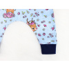 Dětské baggy kalhoty srnky detail nohavice