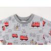 Dětské triko s dlouhým rukávem hasiči detail krku