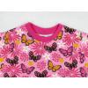 Dětské tričko motýlci detail krku