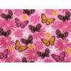 Dětské tričko motýlci detail látky
