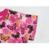 Dětské tričko motýlci detail rukávu