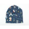 Dětská jarní čepice zvířátka a teepee detail1