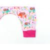 Dětské turky sloníci a kytičky detail nohavice