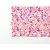 Dětské růžové triko s kytičkami detail2