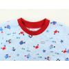 Dětské pyžamo s krátkým rukávem Pod hladinou detail nápletu
