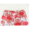 Dětské pyžamo s krátkým rukávem červený les kraťasy¨ detail pasu