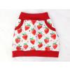 Dětská sukně jahody detail