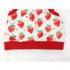 Dětská sukně jahody detail pasu