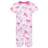 Dětské pyžamo s krátkým rukávem jednorožci