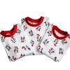 Dětské pyžamo Pandy - detail