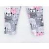 Dětské legíny kočičky detail nohavic