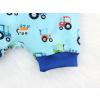 Dětské pumpky traktory detail nohavice