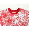 Dětské pyžamo Červený les detai krku