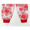 Dětské pyžamo Červený les detail kalhot