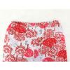 Dětské pyžamo Červený les detail pasu u kalhot