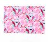 Dětské růžové triko koaly detail2